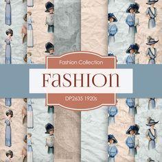 Fashion Digital Paper by DigitalPaperStore