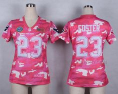 http://www.xjersey.com/nike-texans-23-foster-pink-camo-with-usa-flag-patch-women-jerseys.html Only$37.00 #NIKE TEXANS 23 FOSTER PINK CAMO WITH USA FLAG PATCH WOMEN JERSEYS Free Shipping!