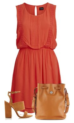 """1 Day Chalange : 18/40 sets"" by directioner-123-ii ❤ liked on Polyvore featuring VILA, Tabitha Simmons and Tory Burch"