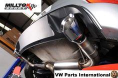 VW GOLF MK6 GTI Edition 35 MILLTEK 3″ Race Resonated Cat Back Exhaust GT100