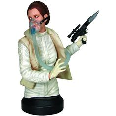 "Gentle Giant Star Wars: Princess Leia ""Mynock Hunt"" Mini Bust -- Check this awesome product by going to the link at the image. (This is an affiliate link) #ActionFiguresStatues"