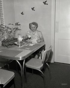 Shorpy Historic Picture Archive :: Hello, Helen: 1955 high-resolution photo