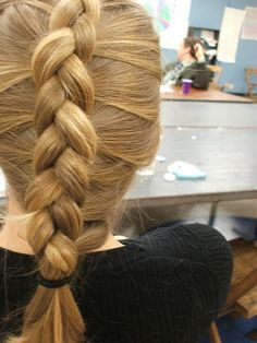 Inside Out French Braids