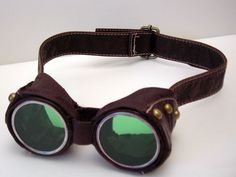 Steampunk goggles! - CLOTHING