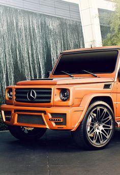 Mercedes G-class Beautiful.