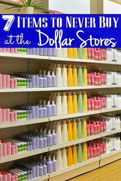 7 Items to Never Buy at the Dollar Stores - The Frugal Navy Wife