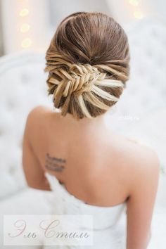 Wedding Hairstyle / http://www.himisspuff.com/bridal-wedding-hairstyles-for-long-hair/43/