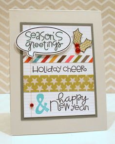 Paper Smooches SPARKS: Nov. 5-11 Trend Watch challenge--card by SPARKS DT Ashley Marcu--using the PS stamp sets He Said She Said, Christmas Sampler, and All Yule Need