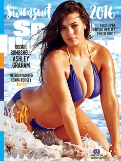 Ashley Graham opens up about being the first size-16 model to be on the cover of the Sports Illustrated Swimsuit issue