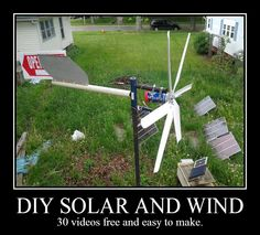 How I started to build my DIY Residential Wind Generators