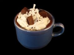 Hot Chocolate Mug Soy Candle by BandBCandles on Etsy, $16.50