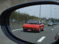 Ferrari Mondial, Car Mirror, Cars, Feelings, Vehicles, Love, Autos, Car, Car