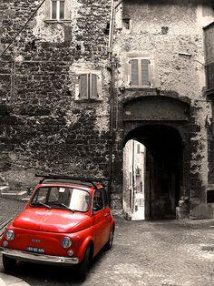 la mia cinquecento - in fact, I love the entire picture...