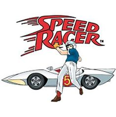 Speed Racer ... I remember suffering symptoms of vertigo while watching the opening credits when home sick as a kid... Still awesome