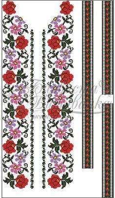 Атласная белая мужская вышиванка СЧ-051Б Crochet Stitches Patterns, Fabric Patterns, Cross Stitch Patterns, Hand Embroidery Art, Embroidery Designs, Palestinian Embroidery, Diy Flowers, Smocking, Abstract
