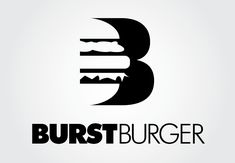 Conceptual logo for an upscale burger restaurant #food #logo #graphicdesign #designcrowd