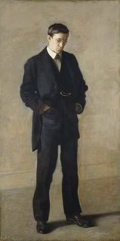 Thomas Eakins, The Thinker (Portrait of Louis N. Kenton), 1900