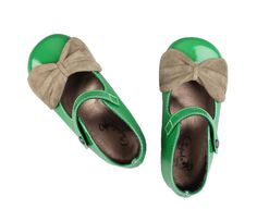 green shoes for girl
