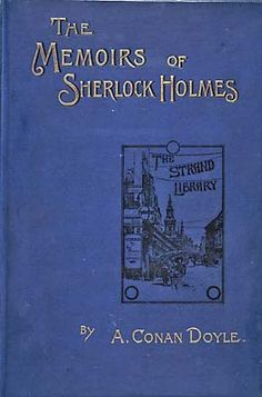 The Memoirs of Sherlock Holmes - Wikipedia, the free encyclopedia