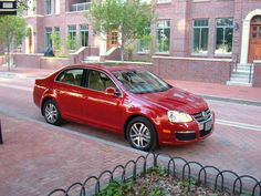 Here is a Red Jetta SEL.