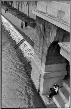 Henri Cartier- Bresson Paris. 1969. - FRANCE.