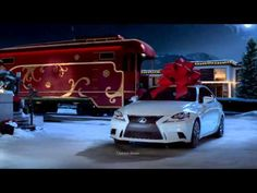 "No Reindeer, Just Rails: The Lexus December to Remember Commercial ""Christmas Train"" - YouTube"
