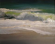 Matthew Cornell ~ Summer Surf @Jacinta Eiffe Faherty saw this painter and thought of you!x