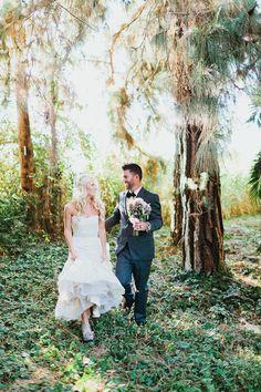 Bride wears Enzoani wedding dress   Fab Mood #summerwedding
