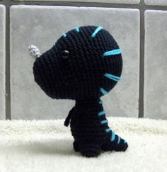 crochet venomhide ravasaur (from World of Warcraft) could probably do a wargreymon like this.. (geeky digimon reference)