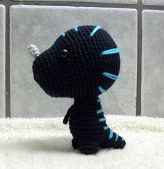 Amigurumi -- Venomhide Ravasaur (now with pattern) - CROCHET