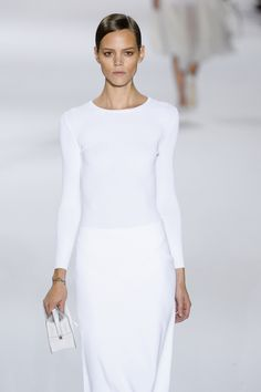 All white. Everything white. Chloe | SS 11.