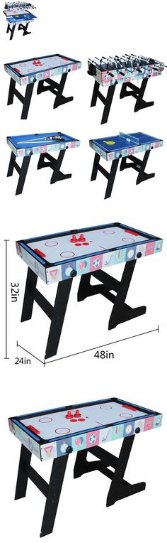 Other Indoor Games 36278: 3 In 1 Rotating Combination Multi Game Table ~  Pool ~ Air Hockey ~ Ping Pong~New BUY IT NOW ONLY: $829.99 | Pinterest |  Multi Game ...