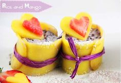 arroz venere con mango