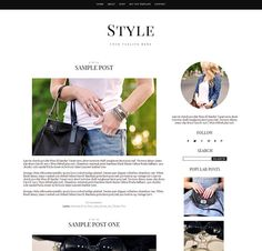 108 best weebly images on pinterest design websites website welcome to the style responsive blogger template for clean chic and maxwellsz