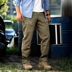 Men's Outdoor Multi-pockets Tactical Pants
