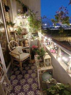 11 Lovely small balcony decorating ideas - LittlePieceOfMe