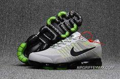 2018 Nike Air Vapormax Flyknit Cool Grey Wolf Grey Online Top Running Shoes, Nike Running, Cheap Nike Air Max, Nike Max, Nike Air Vapormax, Mens Nike Air, Cheap Air, Basketball Outfits, Nike Basketball Shoes