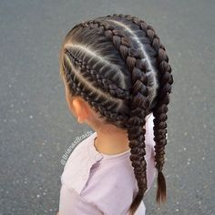 Tight braids for the ✈️Girls are so excited. P… - Hairstyles 2019 Tight braids for the ✈️Girls are so excited. # small Braids inspiration Tight braids for the ✈️Girls are so excited. P… - Hairstyles 2019 Baby Girl Hairstyles, Kids Braided Hairstyles, Box Braids Hairstyles, Cool Hairstyles, Teenage Hairstyles, Toddler Hairstyles, 1950s Hairstyles, Summer Hairstyles, Side Curly Hairstyles