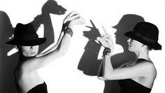 amouremeline: Image: Behati Prinsloo Coco Rocha by Jamie Beck and Kevin Burg. I love Coco! Anim Gif, Animated Gif, Gifs, Shadow Puppets With Hands, Cinemagraph Gif, Hand Shadows, Shadow Art, Shadow Play, Behati Prinsloo