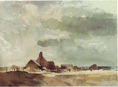 Edward Seago Watercolors   Visit to Royal Watercolor Society, London » seago