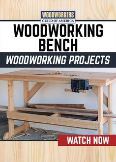 Any experienced woodworker can attest to the fact that a good workbench is one of the keys to success for any project. More than a simple work surface, a well-made bench incorporates precise angles and a level top that serve as gauges for other projects. Woodworking Projects That Sell, Woodworking Guide, Woodworking Workbench, Popular Woodworking, Custom Woodworking, Woodworking Furniture, Woodworking Crafts, Workbench Plans, Woodworking Skills