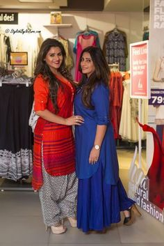 #pintrest@Dixna deol Salwar Dress, Salwar Kurta, Patiala, Pakistani Dresses, Indian Dresses, Indian Designer Outfits, Designer Dresses, Ethnic Trends, Embroidery Suits Punjabi