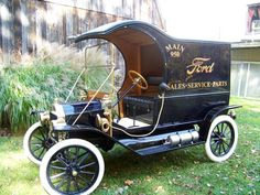 Predecessor to FedEx and UPS?  1912 Ford Local Delivery Car  When times were simpler...