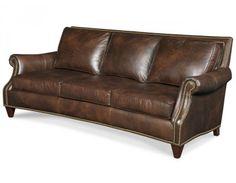 Bradington Young Bates Leather Sofa, Made in the USA! : Leather Furniture Expo
