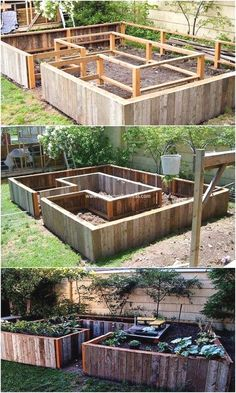 Rustic and textured effect has been all conceptually used out in this pallet raised garden design. Thus, this image shows you out with the wonderful coverage of the pallet raised garden creation that would force you to make this project as part of your ho Vegetable Garden For Beginners, Gardening For Beginners, Gardening Tips, Gardening Supplies, Gardening Scissors, Gardening Websites, Gardening Direct, Gardening Zones, Greenhouse Gardening