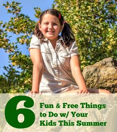 6 Fun and Free Things to Do With Your Kids This Summer - Two Kids and a Coupon