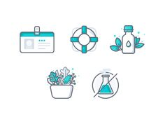 Essential Oil Icons by Vy Tat #Design Popular #Dribbble #shots