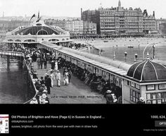 old photo of the West Pier Brighton