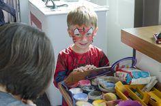 Freshly painted Spiderman! #goodvsevil #playatEROAD