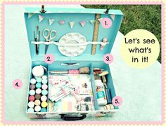 Everyday is a Holiday: What's in my Traveling Art Kit?